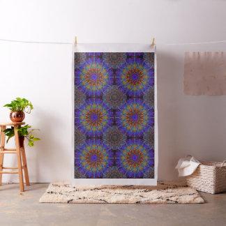 Tissu arabesque romantique d'ornement de mandala de