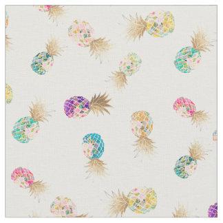 Tissu Arrière - plan de PixDezines Aloha Pineapples/DIY