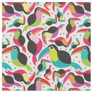 tissu oiseau exotique pour loisirs cr atifs couture. Black Bedroom Furniture Sets. Home Design Ideas