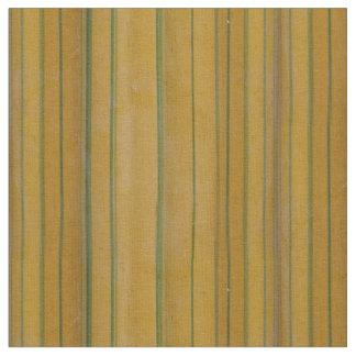 Tissu Bambou - rayures jaunes