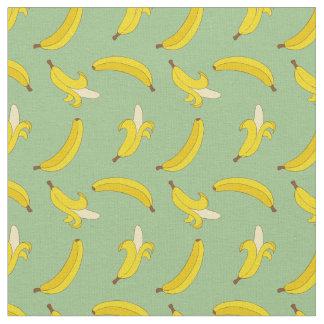 Tissu Bananes sages