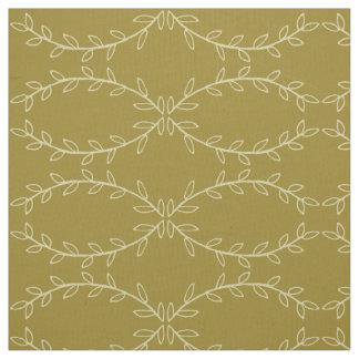 Tissu Branches de bol de riz sur la toile vintage