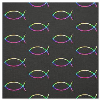 Tissu Cadeaux colorés des poissons | de Christan