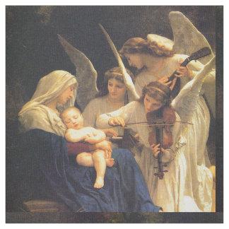 Tissu Chanson des anges, William-Adolphe Bouguereau