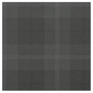 Tissu Charchoal foncé, plaid noir/gris de gris, de