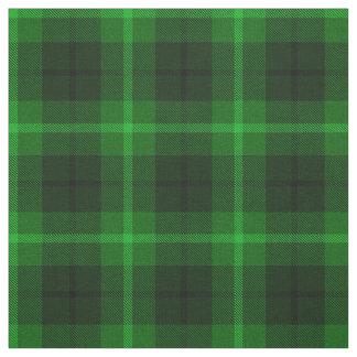 Tissu Chaux foncée, vert d'herbe, noir/plaid rayure de