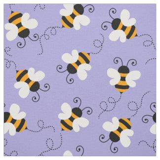 Tissu Choisissez votre motif de bourdon d'abeille de