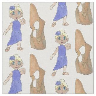 Tissu Classe bronzage de considérant de chaussure de