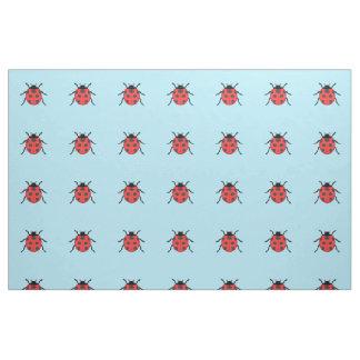Tissu Coccinelle