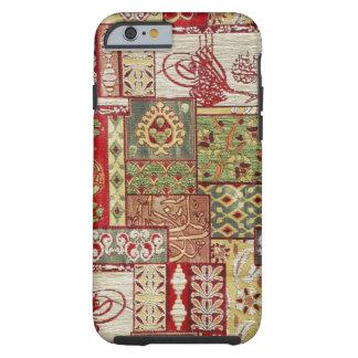Tissu coloré coque tough iPhone 6