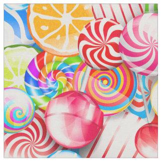Tissu coloré frais d'amusement de motif de