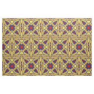 Tissu coloré royal