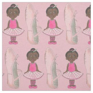 Tissu Considérant rose de danse de tutu de pantoufle de