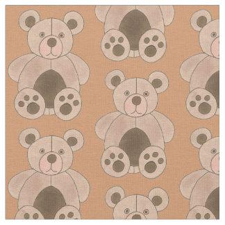 Tissu Copie animale de jouet de peluche bronzage de