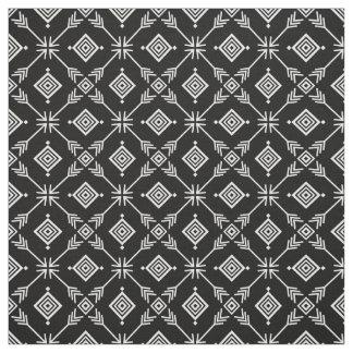 Tissu Copie tribale de flèche noire et blanche