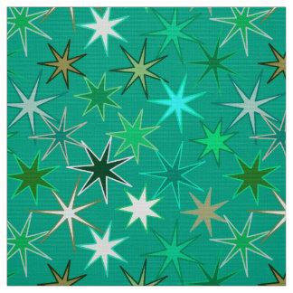 Tissu Copie, turquoise et Aqua modernes de Starburst
