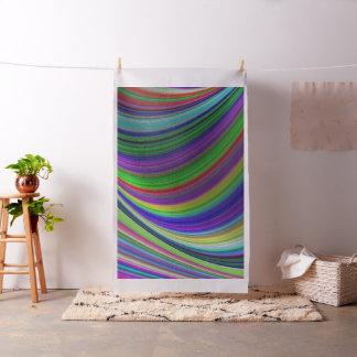 Tissu Courbes de couleur