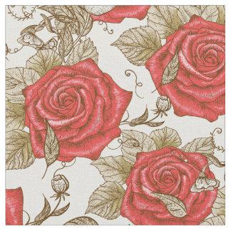 Tissu Coutume du décor 81 de fleur