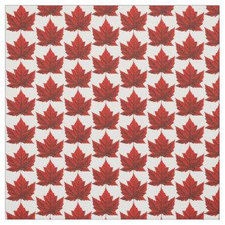 Tissu customisé par tissu de drapeau du Canada de