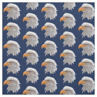 Tissu d'Alaska d'Eagle chauve (marine)