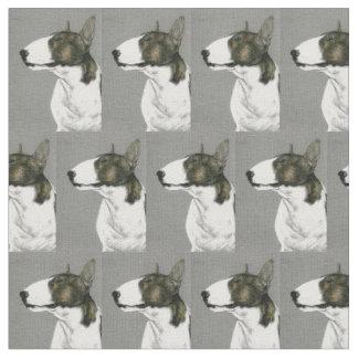 Tissu d'art de chien de bull-terrier