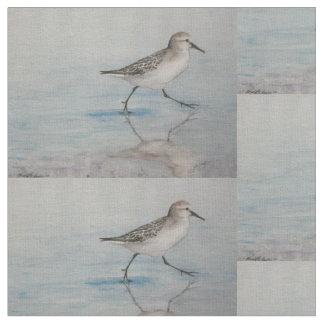 Tissu d'art d'oiseau de joueur de pipeau de sable