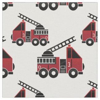 Tissu de camions de pompiers