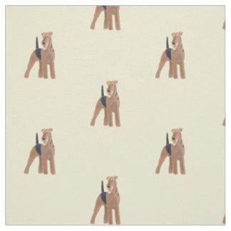 Tissu de chien d'Airedale Terrier