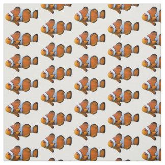 Tissu de Clownfish (choisissez votre couleur)