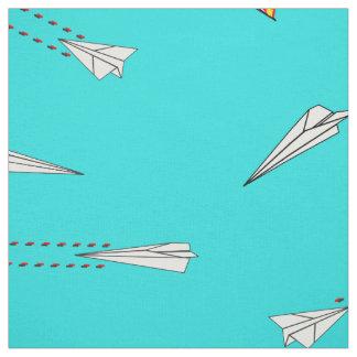 tissu de combattants de chien d'avion de papier