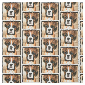 Tissu de coutume de chien de boxeur