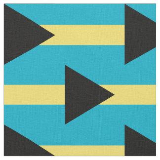 Tissu de drapeau des Bahamas