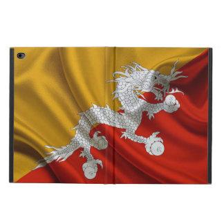 Tissu de drapeau du Bhutan