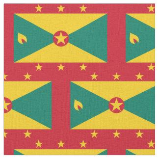 Tissu de drapeau du Grenada