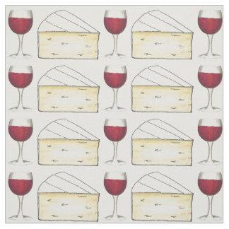 Tissu de fin gourmet de fromage en verre et de