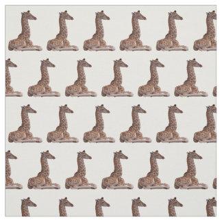 Tissu de girafe de bébé (choisissez la couleur)