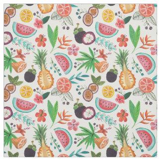 Tissu de l'été | de fruit tropical