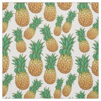 Tissu de motif d'ananas