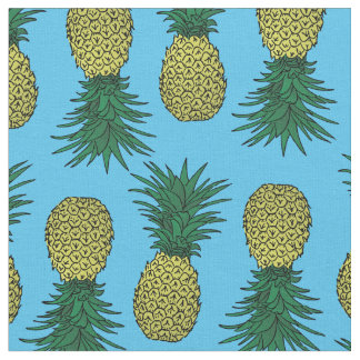 Tissu de motif d'ananas d'Awesomw