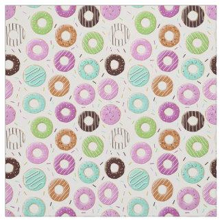 Tissu de motif de beignet