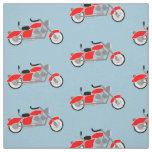 Tissu de motif de moto de garçons