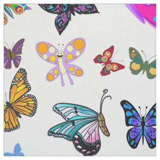 Tissu de papillon