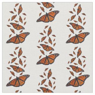 Tissu de papillon de monarque (choisissez votre