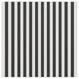 Tissu de rayures, 09 Noir-Blancs