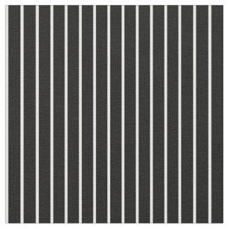Tissu de rayures, 17 Noir-Blancs