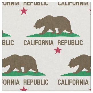 Tissu de République de la Californie