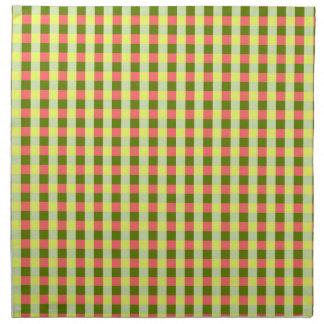 Tissu de serviettes de contrôle de pastèque
