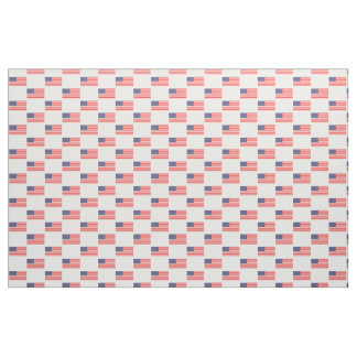 Tissu de textile patriotique de motif de drapeau
