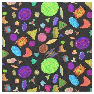 Tissu Diatomées psychédéliques