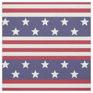 Tissu Drapeau américain patriotique Etats-Unis de